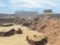 Dolina śmierci - pustynia