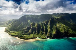 Hawaje z lotu ptaka