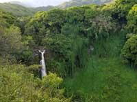 Wodospad na Hawajach