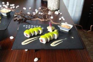Sushi podczas wycieczki do Japonii
