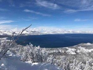 Widok na Tahoe Lake