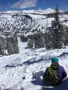 Snowboard w Lake Tahoe