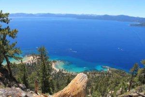 Widok na jezioro Tahoe