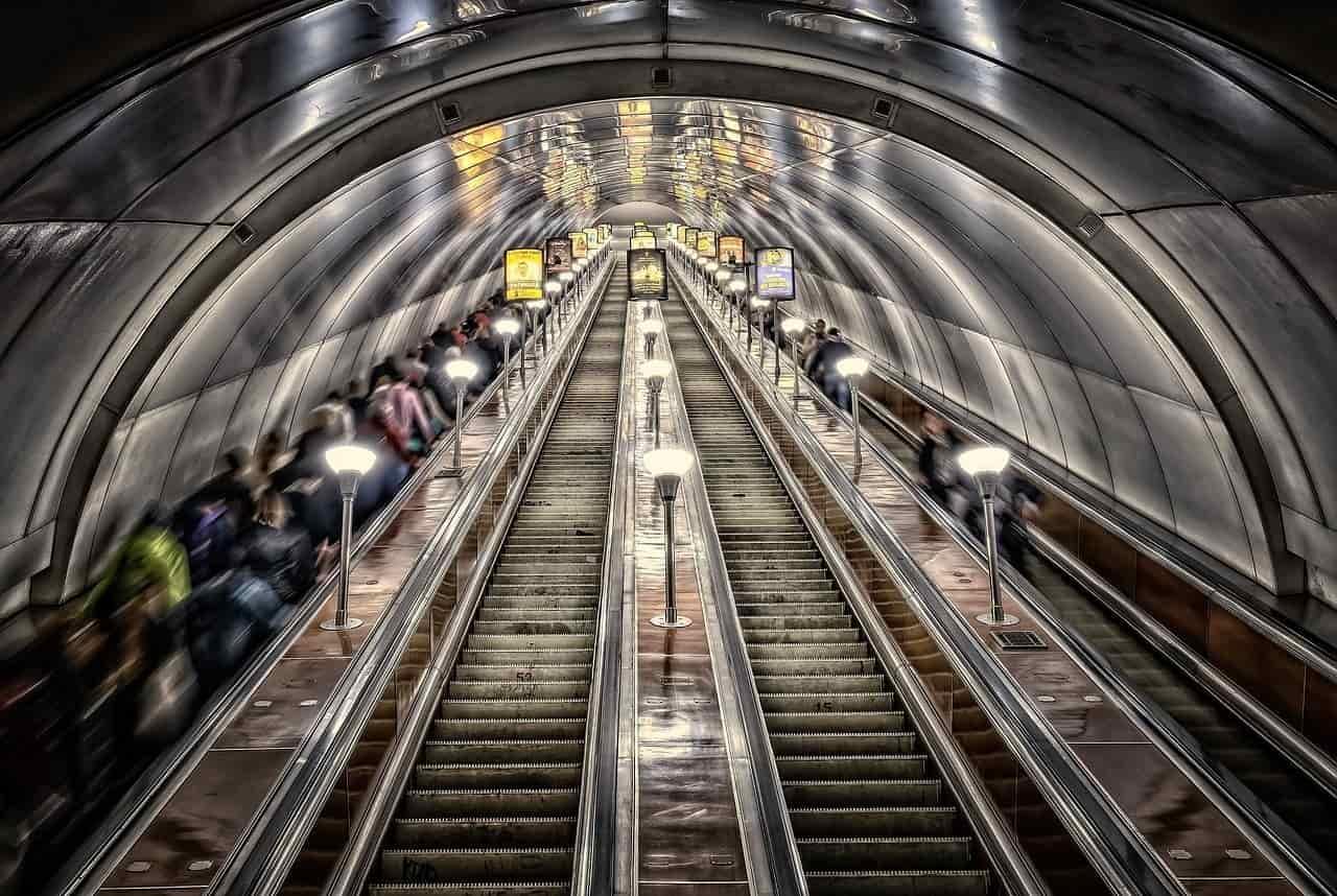 Najgłębsze metro świata - Moskwa