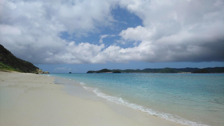 Plaża Okinawa, wyspa Aka