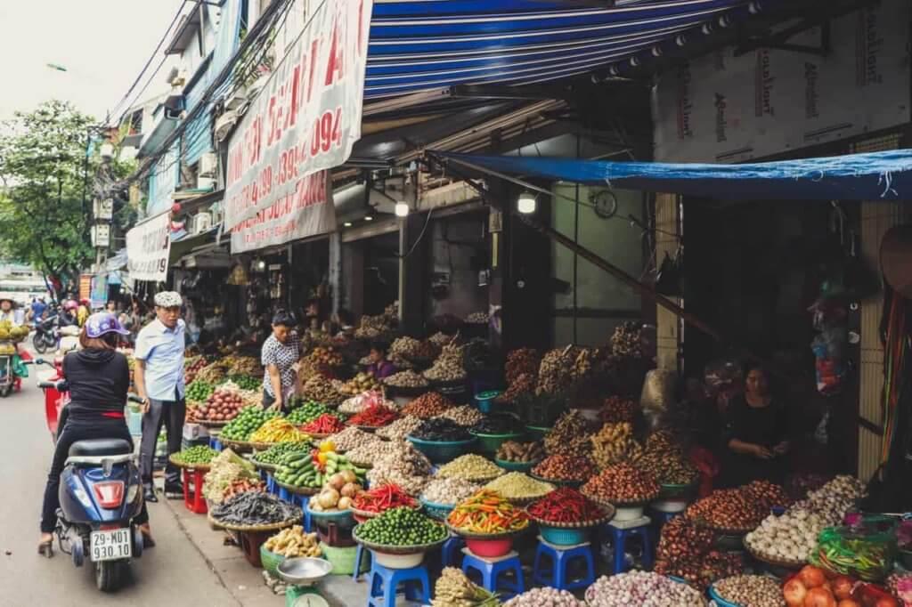 Targ w Wietnamie