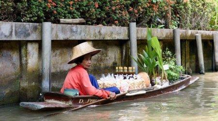 Sprzedawca w Tajlandii