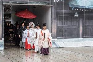 Tradycyjny ślub Japoński