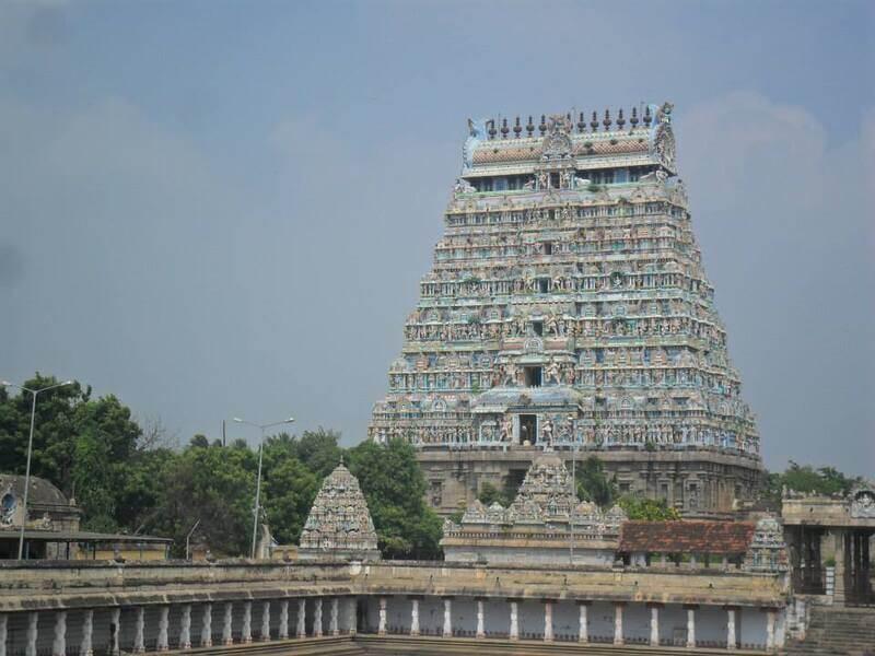 Zabytkowa świątynia w Indiach